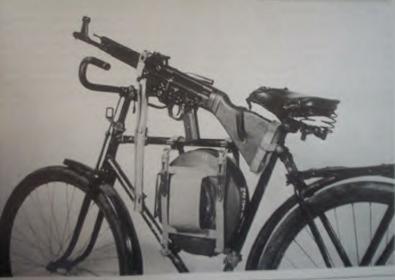 james bond bike