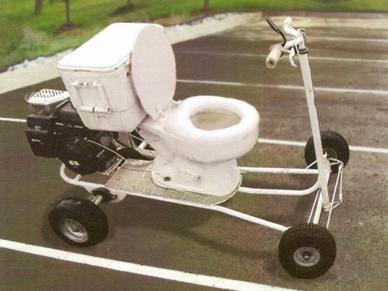 cycle toilet